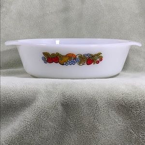ANCHOR HOCKING. VINTAGE. 1.5QT CASSEROLE DISH. 433
